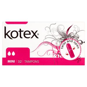 Kotex Mini tampóny 32 ks