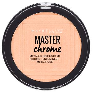 Maybelline New York Master Chrome 050 Molten Rose Gold metalický rozjaňovač 9g