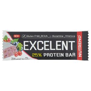 Nutrend Excelent Protein bar příchuť černý rybíz s brusinkami 40g