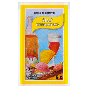 Aroco Barva do potravin žluť citronová 5g