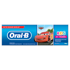Oral-B Kids Auta Zubní Pasta 75ml, Od 3 Let