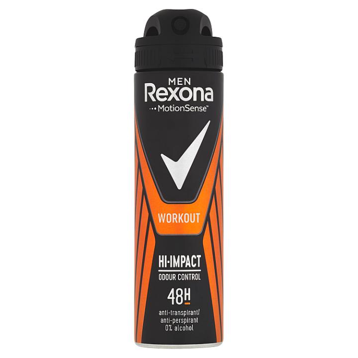 Rexona Antiperspirant sprej pro muže Workout Hi- Impact 150ml
