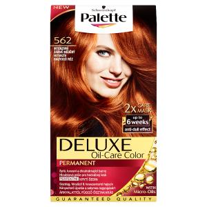 Palette Deluxe Dlouhotrvající barva intenzivní zářivě měděný 562
