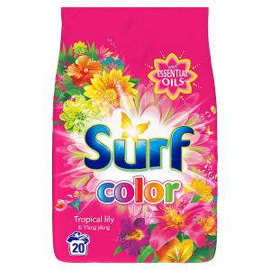 Surf Color Tropical prací prášek 20 dávek