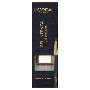 L'Oréal Paris Gel Intenza by Superliner 01 Pure Black oční linky 2,8g