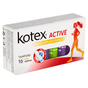 Kotex Active Normal tampóny 16 ks