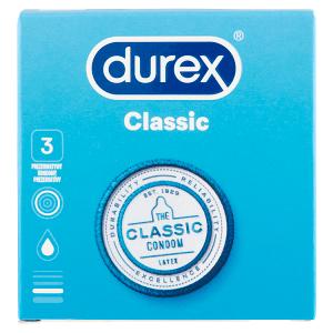 Durex Classic kondomy 3 ks