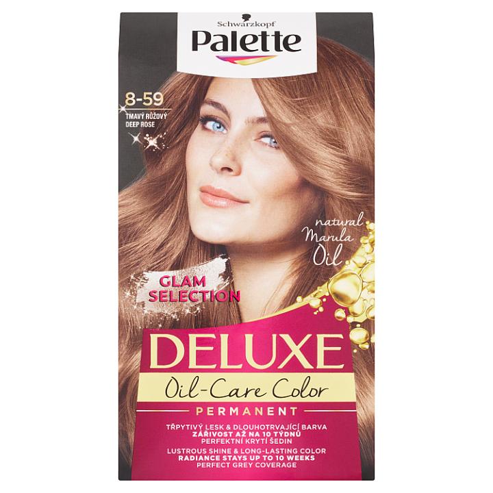 Schwarzkopf Palette Deluxe barva na vlasy Tmavý Růžový 8-59