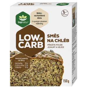 Topnatur Low Carb směs na chléb 150g.