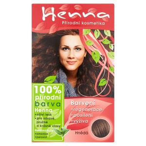 Henna 100% přírodní barva hnědá 33g