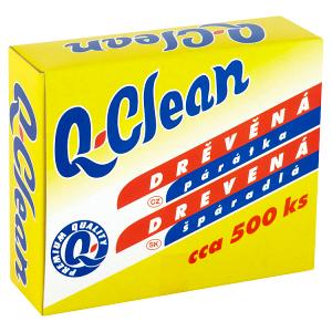 Q-Clean Drěvěná párátka 500 ks