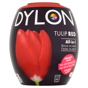 Dylon All-in-1 Tulip red barva na textil 350g