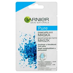 Garnier Skin Naturals Pure samohřejivá maska 2 x 6ml