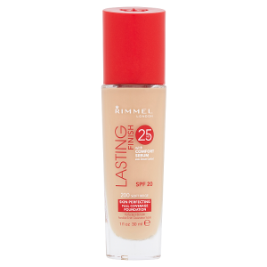 Rimmel London Lasting Finish 25h make-up 200 soft beige 30ml