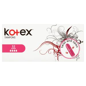 Kotex Super tampóny 32 ks