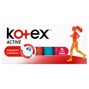 Kotex Active Super tampóny 16 ks