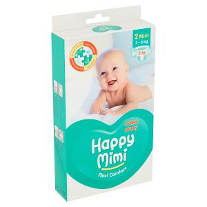 Happy Mimi Flexi Comfort dětské plenky 2 mini 2 ks