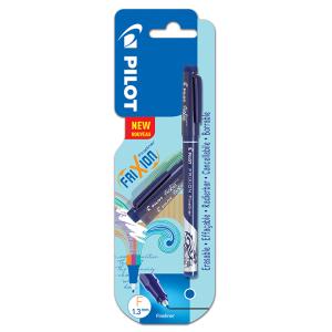 Pilot Fineliner gumovací liner, modrý