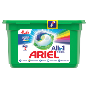 Ariel All-In-1 PODs +Lenor Unstoppables Kapsle Na Praní, 13 Praní