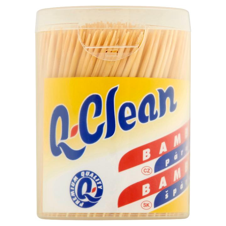 Q-Clean Bambusová párátka 500 ks Q-Clean