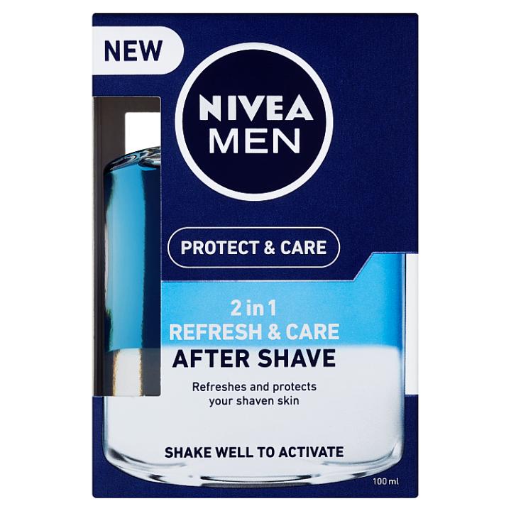 Nivea Men Protect & Care Pečující voda po holení 2 v 1 100ml