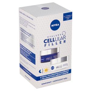 Nivea Hyaluron Cellular Filler Zpevňující denní + noční krém 2 x 50ml