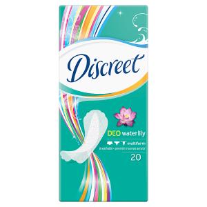 Discreet Multiform Waterlily Prodyšné Intimky 20 ks
