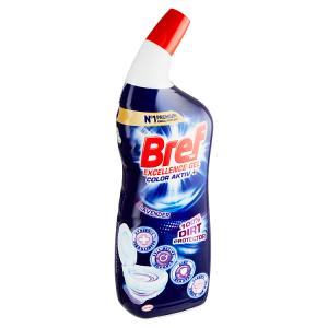 Bref Excellence Gel Color Activ+ Lavender kapalný WC čistič 700ml