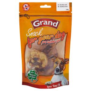 Grand Snack Pro psa vepřové záušky 100g