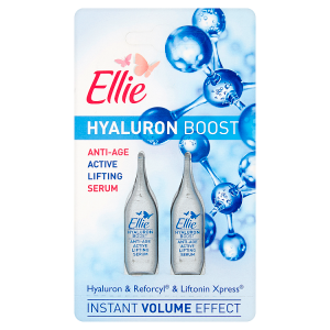 Ellie Hyaluron Boost Omlazující liftingové sérum 2 x 1ml