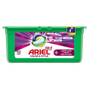 Ariel Allin1 Pods +Complete Fiber Care Kapsle Na Praní, 25 Praní