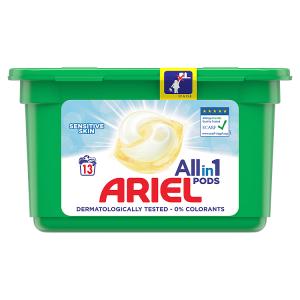 Ariel Allin1 PODS Sensitive Kapsle Na Praní 13 Praní