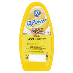 Q-Power Gelový osvěžovač citrón 150g