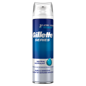 Gillette Series Pure & Sensitive Pánský Gel Na Holení 200 ml