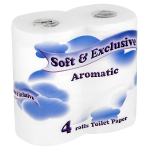 Soft & Exclusive Aromatic toilet paper 4 rolls