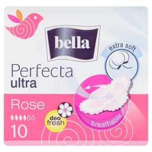 Bella Perfecta Ultra Rose Extra Soft hygienické vložky s křidélky á 10 ks