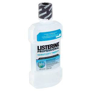 Listerine Professional Sensitivity Therapy ústní voda 500ml