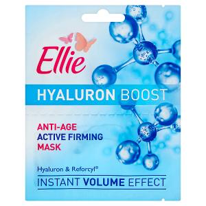 Ellie Hyaluron Boost Omlazující pleťová maska 2 x 8ml
