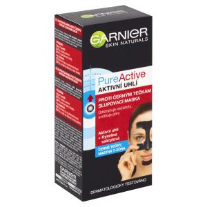 Garnier Pure Active Charcoal slupovací maska proti černým tečkám s aktivním uhlím 50ml