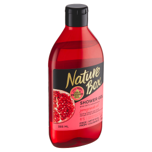 Nature Box sprchový gel Pomegranate Oil 385ml