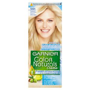 Garnier Color Naturals permanentní barva na vlasy 1001 Popelavá ultra blond, 60+40+12ml