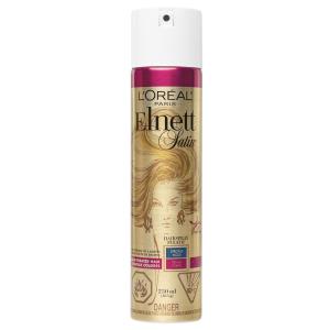 L'Oreal Paris Elnett Satin lak na vlasy silná fixace pro barvené vlasy, 250 ml