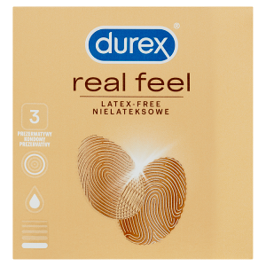 Durex Real Feel kondomy 3 ks