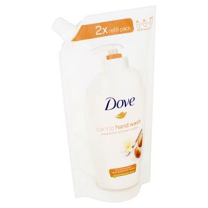 Dove Bambucké máslo a vanilka Tekuté mýdlo náhradní náplň 500ml