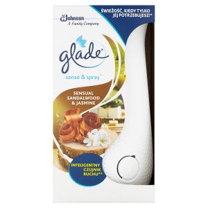 Glade by Brise Sense & Spray Sensual Sandalwood & Jasmine automatický osvěžovač vzduchu 18ml