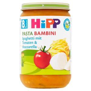 HiPP Bio Rajčata se špagetami a mozzarellou 220g