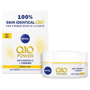 Nivea Q10 Power Zpevňující denní krém proti vráskám OF 30 50ml