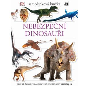 Naučná samolepková knížka Nebezpeční Dinosauři
