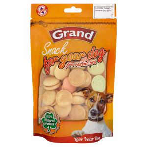 Grand Psí piškoty barevné pro psy 100g