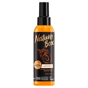 Nature Box sprej pro lesk vlasů Apricot Oil 150ml